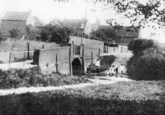 Old picture of Devon Lane ford and bridge