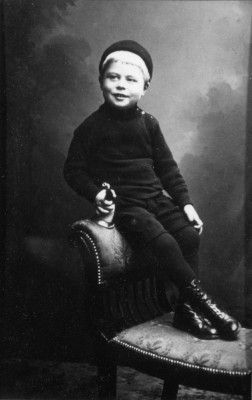 portrait of Sidney Marsh as a young boy