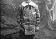portrait of Alec Marsh as a young boy