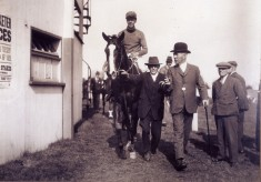 George and Alec Marsh at Southwell Races 1929