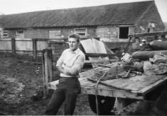 Gerald Rastall at Church Farm