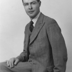 Portrait of Philip Marsh as a young man, c. 1940. From the collection of Angela Marsh