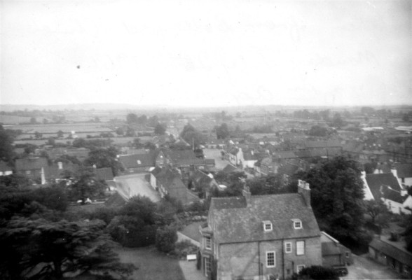 From the church tower looking south