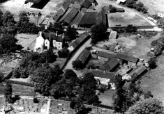 Aeriel view of Beckingthorpe and Church Farms from the south
