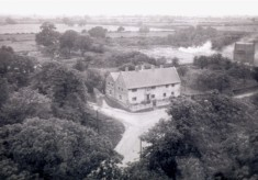 The Duke of Rutland Flats as seen from the church tower