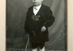Portrait of one George Marsh as a young boy