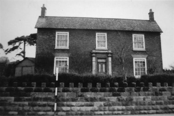 A farm house, locality uncertain