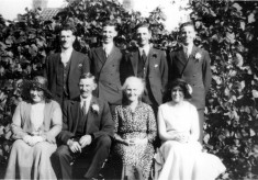 Uncle Wilf Culpin and family group