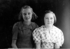 Betty Culpin and Sheila Tarring, Brenda Sellers' cousins