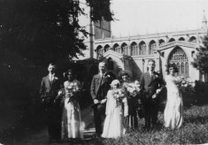 Aunt Elsie and Uncle Jim's wedding, early 1930s 1