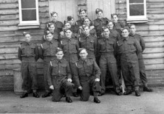 Dad in the army