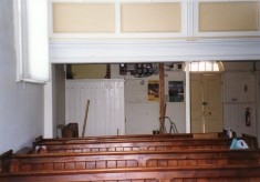 During refurbishment of the Methodist chapel - 1