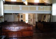 During refurbishment of the Methodist chapel - 2