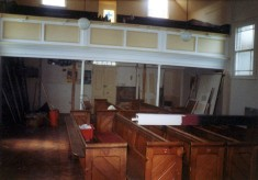 During refurbishment of the Methodist chapel - 3
