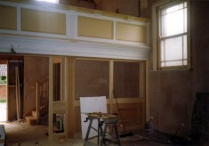 During refurbishment of the Methodist chapel - 5