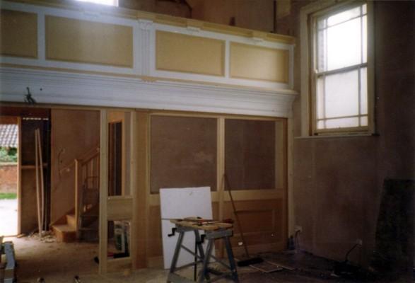 During refurbishment of the Methodist chapel - 5