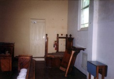 During refurbishment of the Methodist chapel - 6