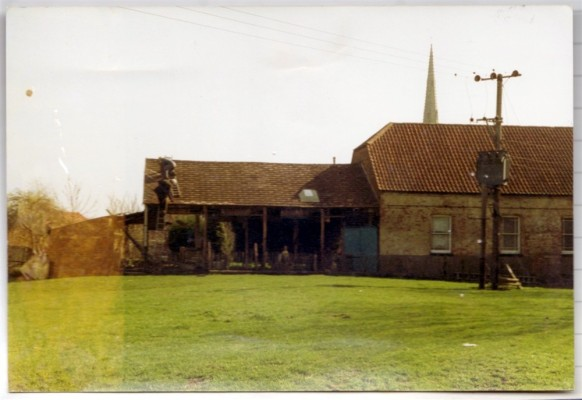 Primitive Methodist Chapel and the old readward extension