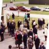 Guests at Bottesford airfield for 1955 comemoration