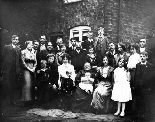 Hallam family group