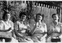 Family and friends, Bottesford ladies