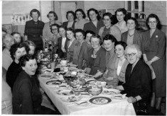 Mother's Union dinner group photo