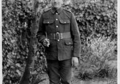 Harold Hallam, in WW1 uniform