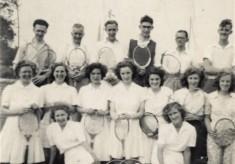 Bottesford Tennis Club, July 1947