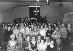 Women's Institute Dinner group