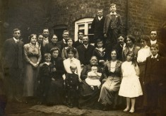 Hallam-Norris family group, see also Beryl Smith collection