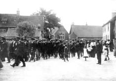 Friendly Society parade Church St. c.1900