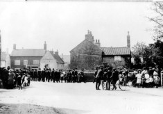 Funeral procession Church St. C.1890