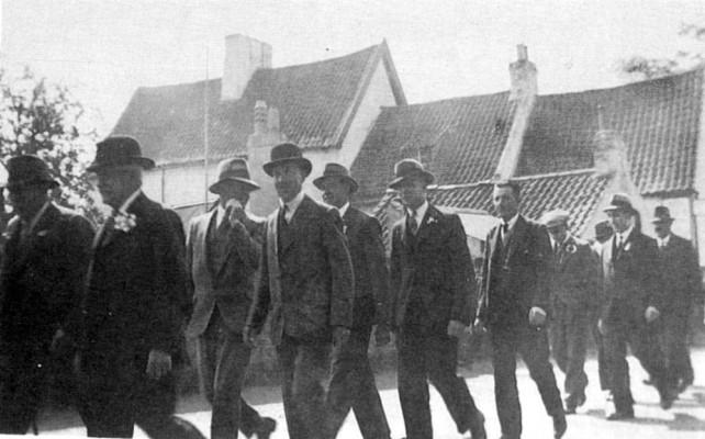 Friendly Society parade Church St. c.1930