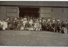 Village celebration at Normanton Barn 1911