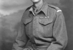 Mr Edgar Culpin, in uniform