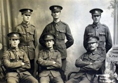 Bottesford WW1 recruits