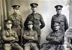Bottesford WW1 recruits