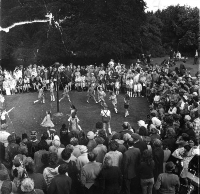 May Day Pageant - Maypole dancing - 2
