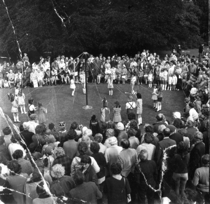 May Day Pageant - Maypole dancing - 3