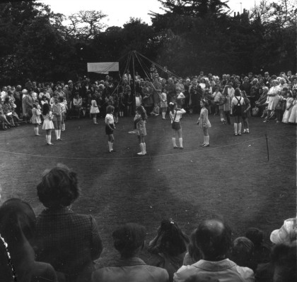 May Day Pageant - Maypole dancing - 4