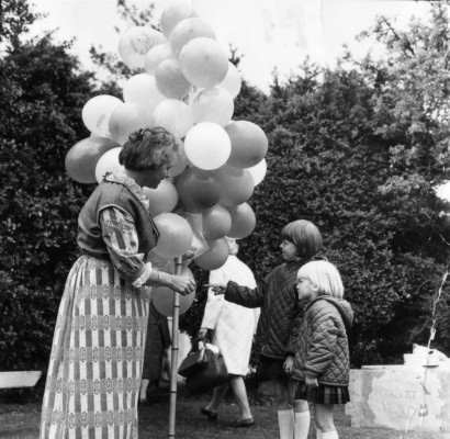 May Day Pageant - balloon seller - 2