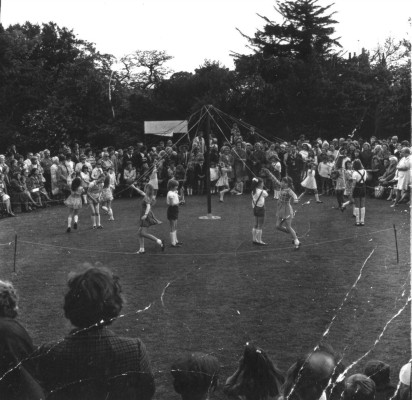 May Day Pageant - Maypole dancing - 5
