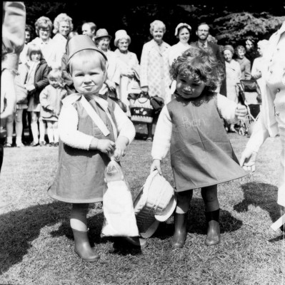 May Day Pageant - infants in fancy dress - 1