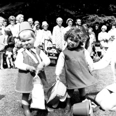 May Day Pageant - infants in fancy dress - 2