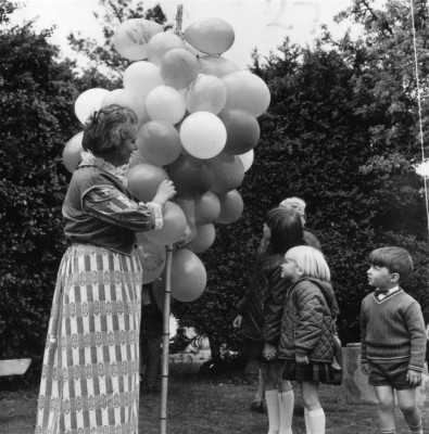 May Day Pageant - balloon seller - 3