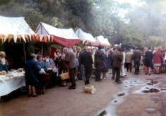 May Day Pageant - stalls in Church Street - 1