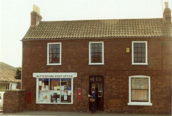 Bottesford street scenes - old Post Office on the High Street