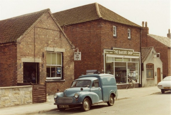 Bottesford street scenes - malthouse bakery shop, Queen Street