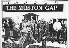 Muston Gap newspaper article