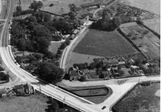 Easthorpe Mill from the air